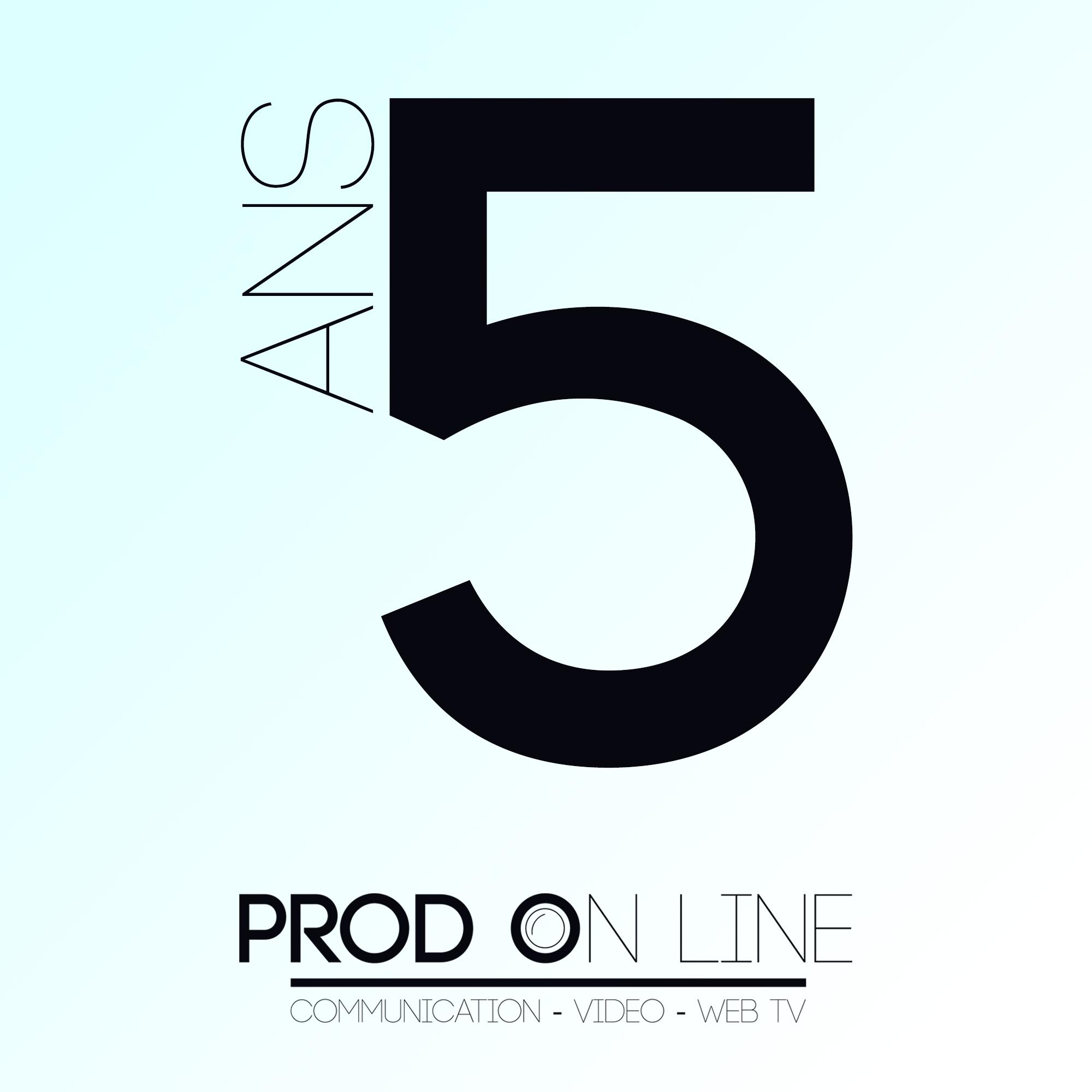 Prod On Line fête ses 5 ans !